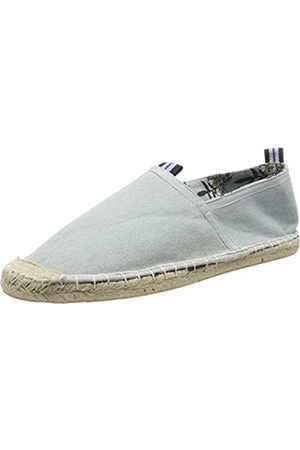 Superdry Men's Classic Espadrille, (Washed Denim/Hal Hibiscus Print V2v)