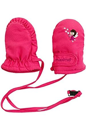 maximo Baby Girls 0-24m Thermofausthandschuh, Sticker Fee Mittens