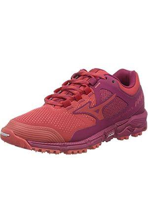 Mizuno Women's Wave Daichi 5 Trail Running Shoes, (Cayenne/Cayenne/Cjubilee 59)
