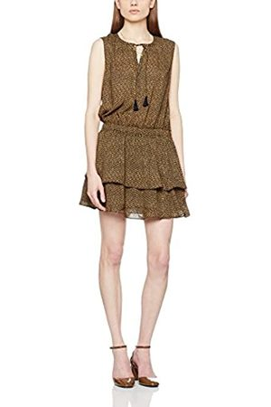 Scotch&Soda Women's Silky Feel Sleeveless Printed Summer Dress with Double Layer Casual Clothes