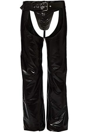 Svenjoyment Underwear Men's 21400711730 Svenjoyment Faux Leather Chaps XL