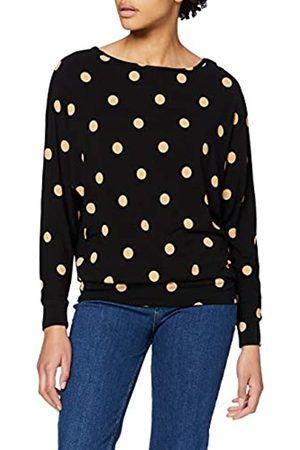 Dorothy Perkins Women's Long Sleeve Large Spot Batwing Top Blouse