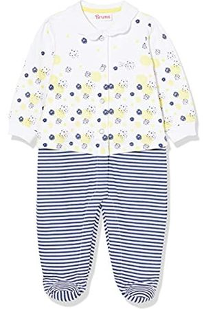 Brums Baby Girls' Tutina Jersey Con F.ta Camicia Footies