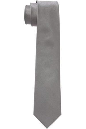 Seidensticker Men's Necktie, -Grau (31 uni Silber)