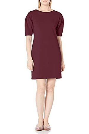 Daily Ritual Terry Cotton and Modal Pleated-Sleeve Sweatshirt Dress