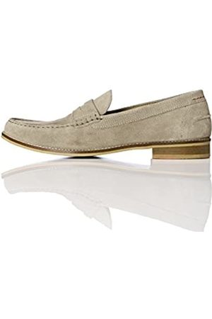 FIND Amazon Brand - Men's Suede Penny Loafers