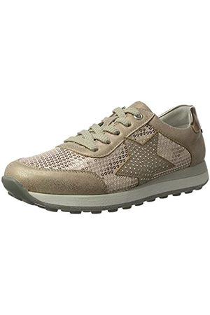 Rieker Kinder K2802, Girls' Low-Top Sneakers, (Rose/Nude/Kupfer / 31)