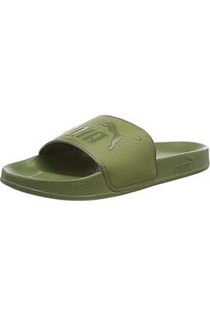 Puma Unisex Adult Leadcat Beach and Pool Shoes, (Olivine-Olivine 18)