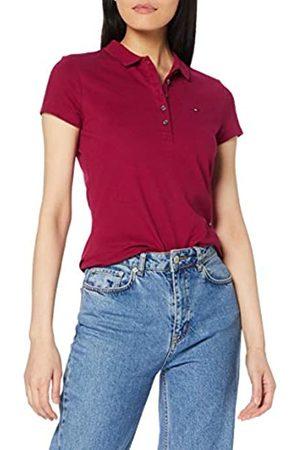Tommy Hilfiger Women's New Chiara Str Pq Polo Ss Shirt
