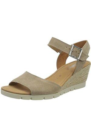 Gabor Shoes Women's Comfort Sport Ankle Strap Sandals, (Muschel (Raffia) 94)