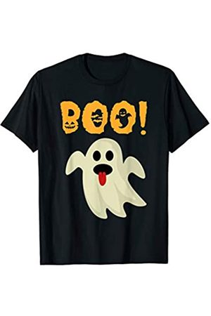 BUBL TEES Boo Funny Ghost Unisex Halloween Trick Or Treat T-Shirt