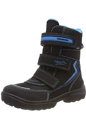 Superfit Boy's Snowcat Snow Boots, (Schwarz/blau 00 00), 27 EU