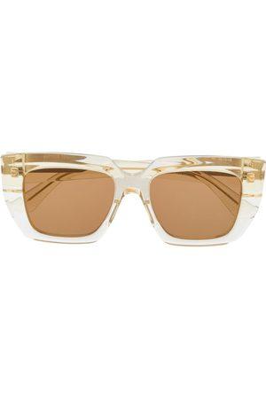 Bottega Veneta BV1030S square-frame sunglasses - Neutrals
