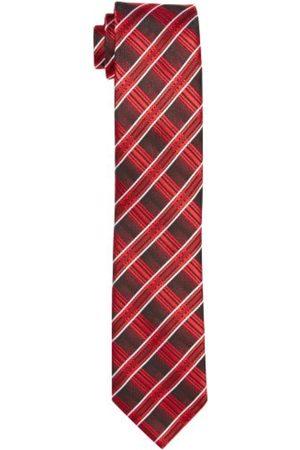 G.O.L. Boy's Krawatte, Diagonal-Check 9965200 Necktie, -Rot ( 7)