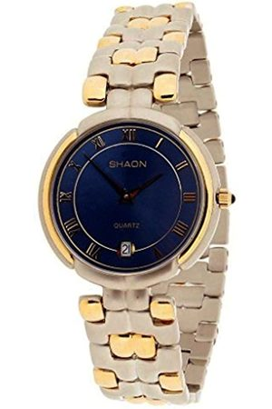 Shaon Men's Analogue Quartz Watch with Brass Strap 36-8001-98