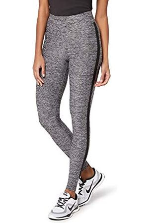 AURIQUE Amazon Brand - Women's Side Stripe Sports Leggings, 12