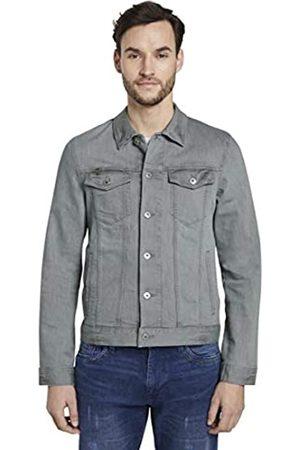 TOM TAILOR Men's Trucker Denim Jacket, 10281-Mid Stone Wash