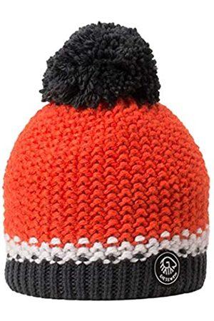 Giesswein Beanie Grubenkopf neon ONE - Bobble hat with Merino Wool, Unisex Winter Knitted hat, Warm hat with Fleece Lining, Winter Beanie for Ladies and Gentlemen