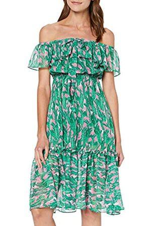 Koton Women's Schlupfkleid Mit Rüschenansatz Am Saum Party Dress