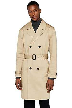FIND Amazon Brand - Men's Smart Cotton Trench Coat, XL