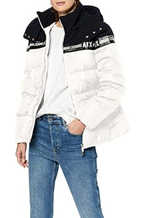 Armani Women's Real Down Double Colour Bomber Jacket
