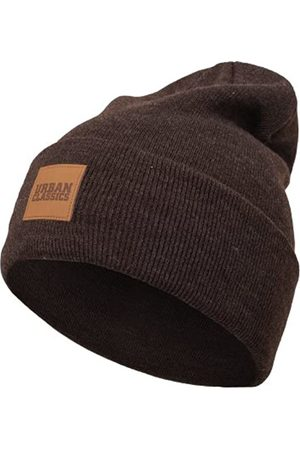 Urban classics Leatherpatch Long Beanie Hat