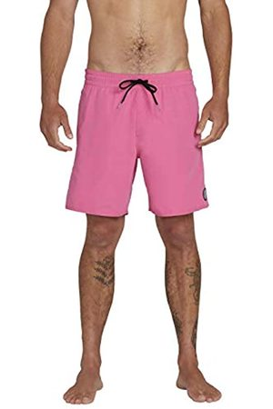 Volcom Men's Lido Solid Trunk 16 Swim Shorts