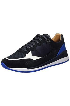 HUGO BOSS Men's Element_Runn_ltmx2 Low-Top Sneakers, (Open 464)