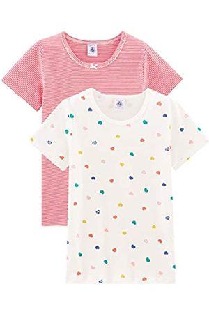 Petit Bateau Girl's Tee Shirt Mc_5005400 Vest