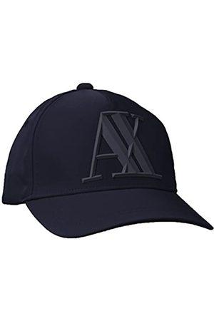Armani Men's Rubber Logo Ax Cap Baseball, (Navy-Navy 37735)