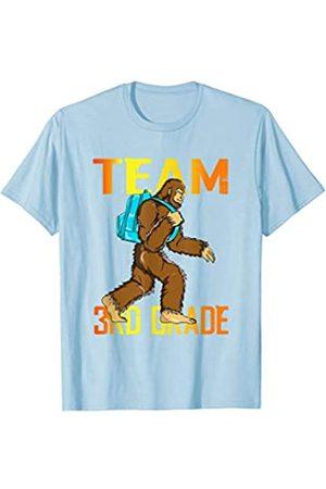 BUBL TEES Team 3rd Grade Bigfoot Sasquach Back To School T-Shirt