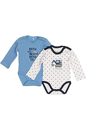 Salt & Pepper Salt and Pepper Baby Boys' NB Body 2er Set Bodysuit