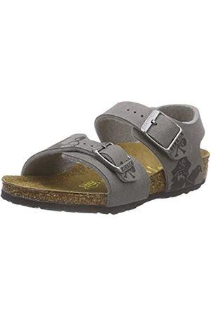 Birkenstock New York, Unisex Kids' Ankle Strap Sandals, (Pirat Iron Hand Gray)