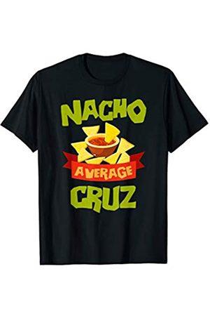 Custom Mexico Christmas Gift Family Last Name Team NACHO AVERAGE CRUZ Funny Birthday Personalized Surname T-Shirt