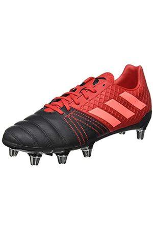 adidas Men's Kakari Elite (sg) Rugby Shoe, Core /Signal Coral/Scarlet