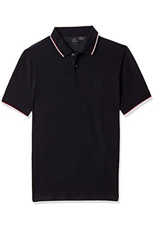 Armani Men's Double Stripe Polo Shirt