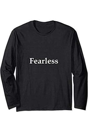 Christian Tees Fearless Isaiah 41:10 - Inspirational Christian Mens Apparel Long Sleeve T-Shirt