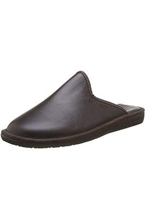 Nordikas Men's Top Line Open Back Slippers, (Moka)