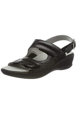 Rohde Women's Herne Ankle Strap Sandals, (Schwarz 90)