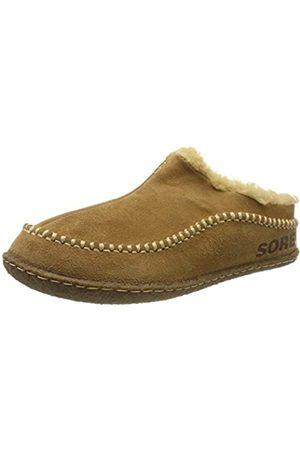 sorel Men's Falcon Ridge II Slippers, (Camel /Curry)