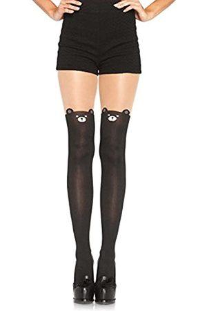 Leg Avenue Women's Opaque Bear Tights - - One Size