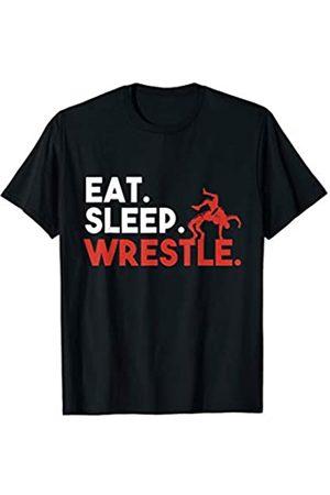 My Shirt Hub Eat Sleep Wrestle T-Shirt T-Shirt
