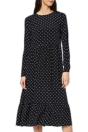 warehouse Women's Spot Tiered Midi Dress Casual