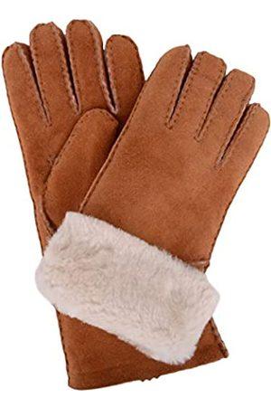 Snugrugs Women's Vicky, Sheepskin Glove with Fold Back Cuff