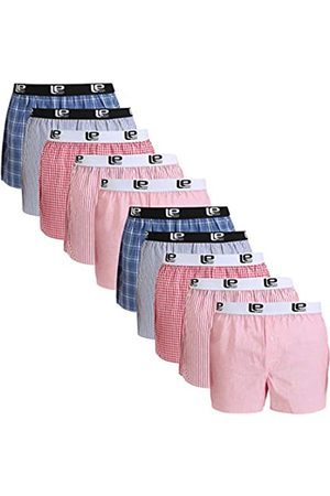 Lower East American Style Boxer Shorts, /Rot), XXX-Large