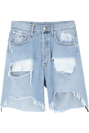 (+) people DENIM - Denim bermudas