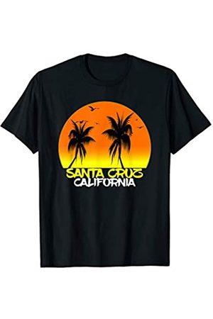 Santa Cruz summer intage retro Surfboard Santa Cruz Vintage California Beach Sunset T-Shirt