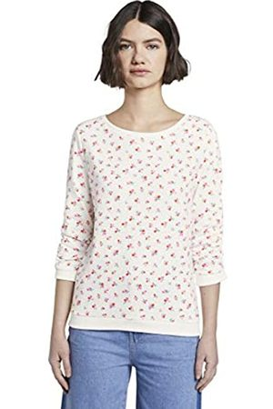 TOM TAILOR Women's Basic AOP Sweater Pullover
