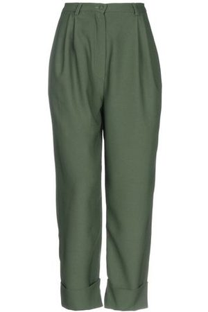 HEBE STUDIO TROUSERS - Casual trousers