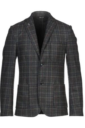 GREY DANIELE ALESSANDRINI SUITS AND JACKETS - Suit jackets